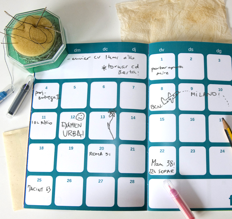 monthly planner for carla