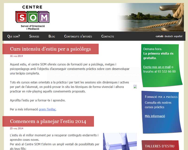 Centre SOM, psicologia i psicopedagogia