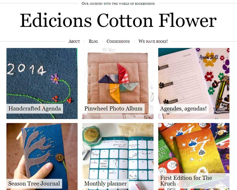 Edicions Cotton Flower, my bookbinding project
